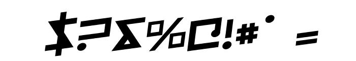 Iron Cobra Rotalic Font OTHER CHARS