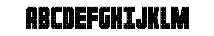 Iron Forge Condensed Font UPPERCASE