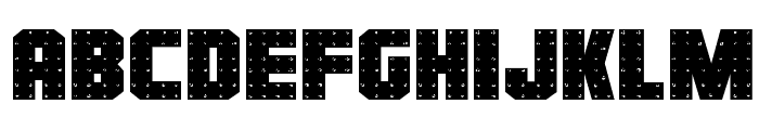 Iron Forge Expanded Font LOWERCASE