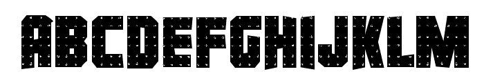 Iron Forge Irregular Font LOWERCASE