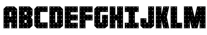 Iron Forge Regular Font UPPERCASE