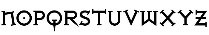Iron League Black Font LOWERCASE