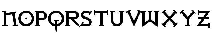 Iron League smallcaps Black Font UPPERCASE