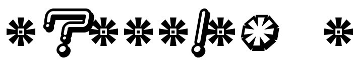 Iron Lounge Smart Dot 2 Font OTHER CHARS