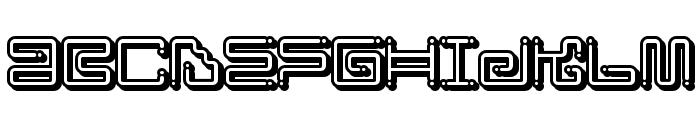 Iron Lounge Smart Dot Font UPPERCASE
