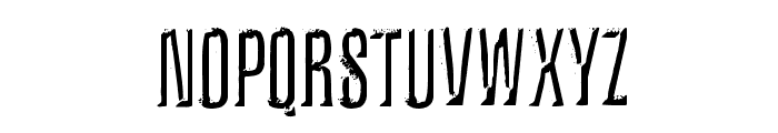 Iron Lung Font UPPERCASE