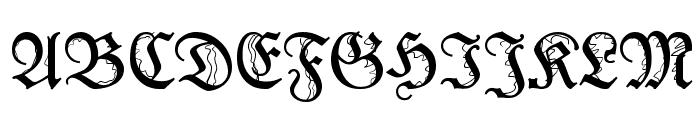 IronFraktur Font UPPERCASE