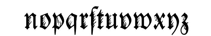 IronFraktur Font LOWERCASE