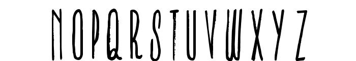 IronFurnaces-Regular Font LOWERCASE