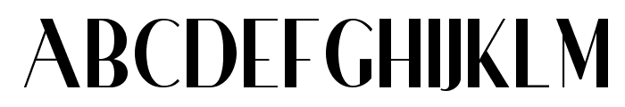 Ironick NF Font UPPERCASE