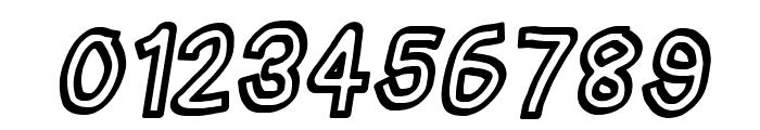 Irregular Tape Italic Font OTHER CHARS