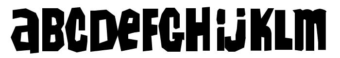 IrwinAllen Font LOWERCASE
