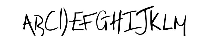 irrep Font UPPERCASE