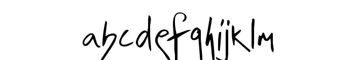 irrep Font LOWERCASE