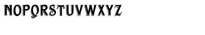 Irish Stout BB Regular Font UPPERCASE
