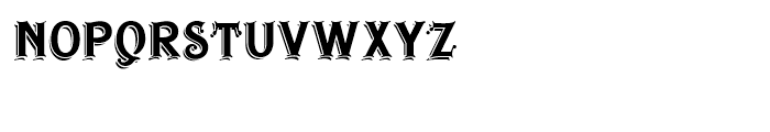 Irish Stout BB Regular Font LOWERCASE