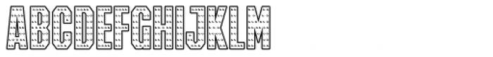 IRON MAN OF WAR 001 Font UPPERCASE