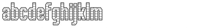 IRON MAN OF WAR 001 Font LOWERCASE