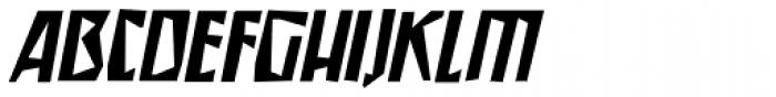 Irena Italic Font UPPERCASE