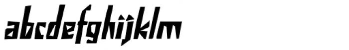 Irena Italic Font LOWERCASE