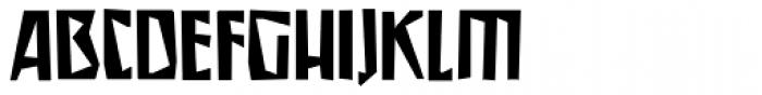 Irena Regular Font UPPERCASE