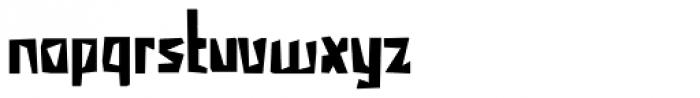 Irena Regular Font LOWERCASE