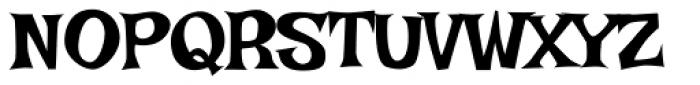 Irish Grover Pro Font UPPERCASE