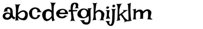 Irish Grover Pro Font LOWERCASE