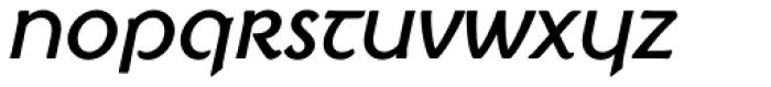 Irish Penny Italic Font LOWERCASE