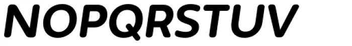 Irma Text Round Pro Heavy Italic Font UPPERCASE