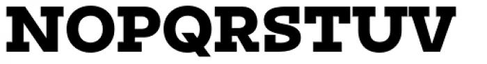 Irma Text Slab Pro Black Font UPPERCASE