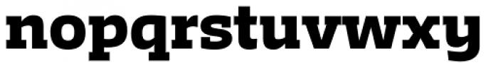 Irma Text Slab Pro Black Font LOWERCASE