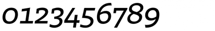 Irma Text Slab Pro Medium Italic Font OTHER CHARS