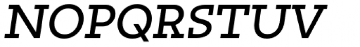 Irma Text Slab Pro Medium Italic Font UPPERCASE