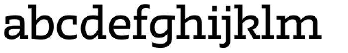 Irma Text Slab Pro Medium Font LOWERCASE