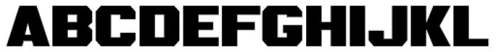 IronOn Black Font UPPERCASE