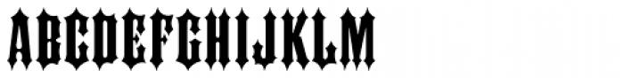 Ironhorse Font UPPERCASE