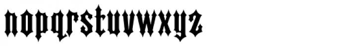 Ironhorse Font LOWERCASE