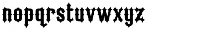 Ironrider Font LOWERCASE