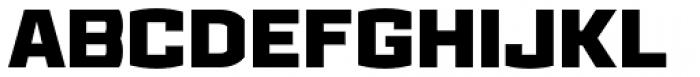 Ironstrike Black Font UPPERCASE