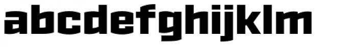 Ironstrike Black Font LOWERCASE