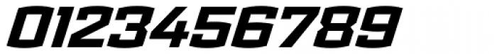 Ironstrike ExtraBold Italic Font OTHER CHARS