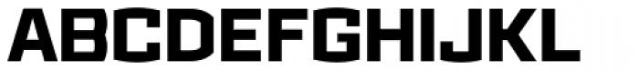 Ironstrike ExtraBold Font UPPERCASE