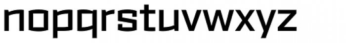 Ironstrike SemiBold Font LOWERCASE