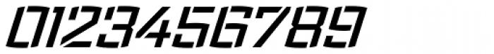 Ironstrike Stencil SemiBold Italic Font OTHER CHARS