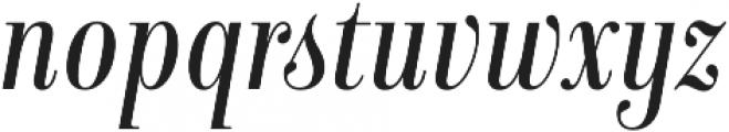 Isabel Condensed Light-Italic otf (300) Font LOWERCASE