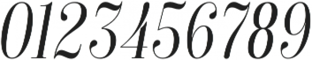 Isabel Condensed Thin-Italic otf (100) Font OTHER CHARS