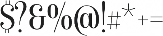 Isabel Condensed Unicase Light otf (300) Font OTHER CHARS