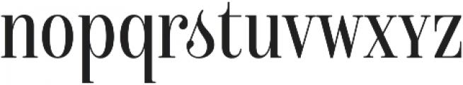 Isabel Condensed Unicase Light otf (300) Font LOWERCASE