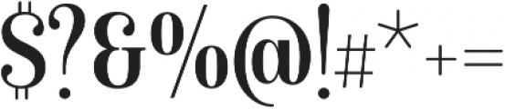 Isabel Condensed otf (400) Font OTHER CHARS